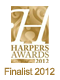 Harpers Awards 2012 Finalist