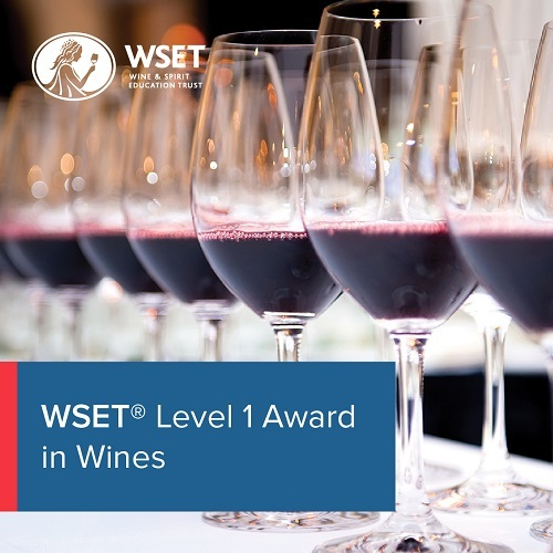 WSET Level 1 Award in Wines - Classroom course inc Exam