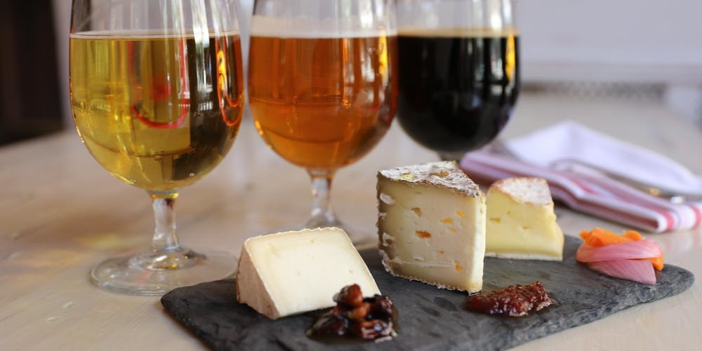 Beer and Cheese pairing experience
