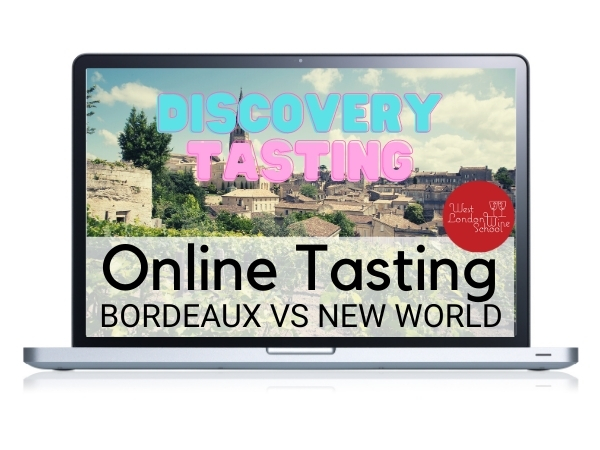 ONLINE TASTING: Bordeaux Vs The New World
