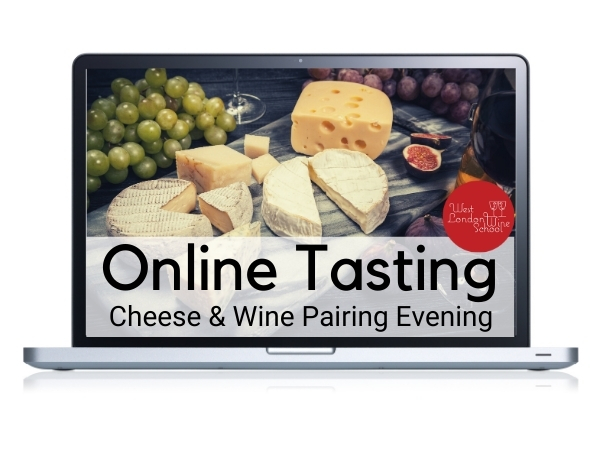 Online Tasting: Cheese and Wine Pairing Evening