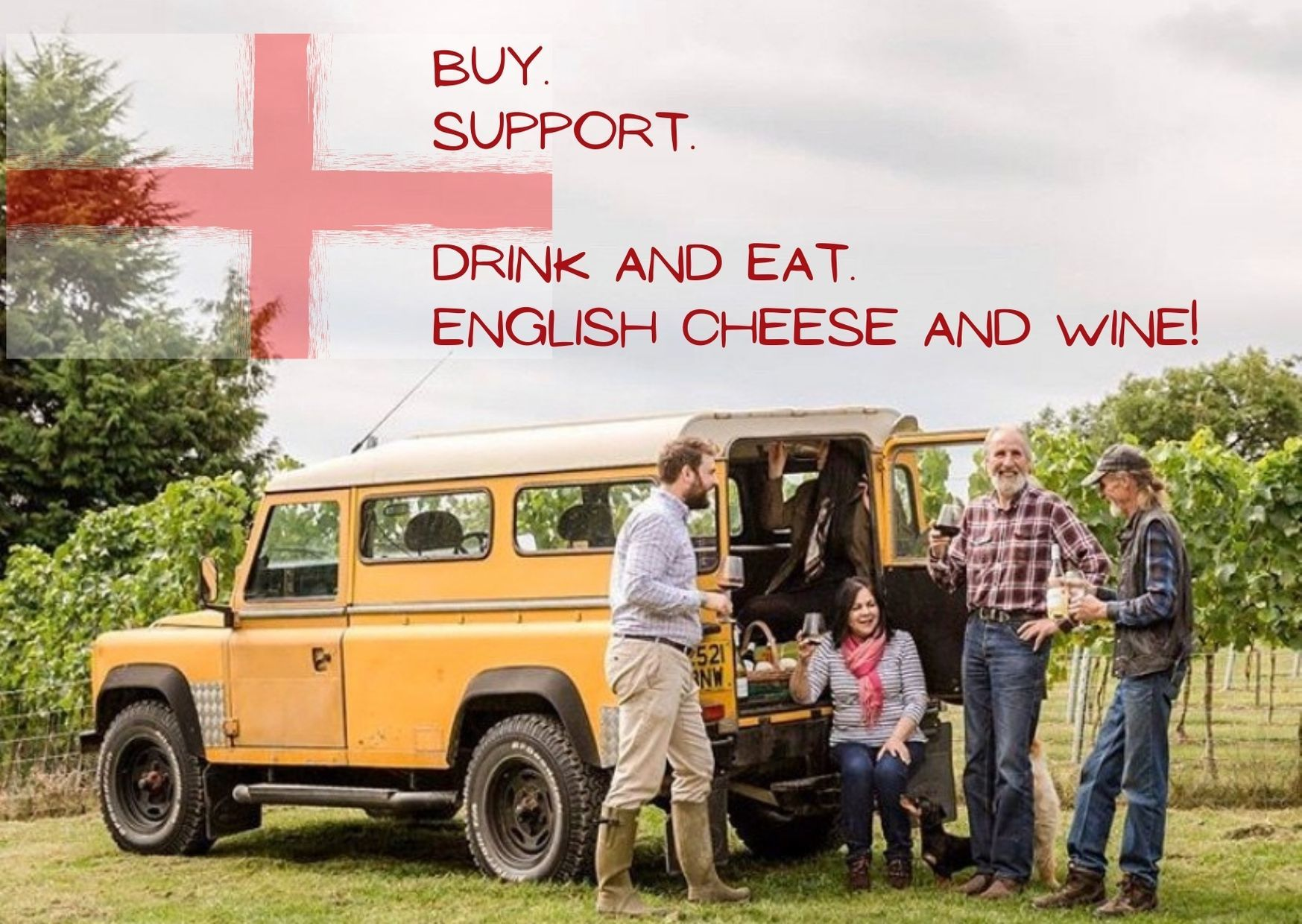 Online - English Wine Tasting and English Cheese