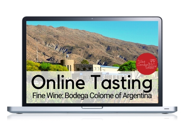 ONLINE FINE WINE TASTING: Wines with Altitude - Bodega Colome of Argentina with winemaker Thibaut Delmotte