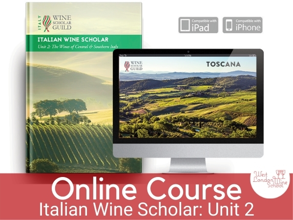 ONLINE COURSE: Italian Wine Scholar - Unit 2 (Central & Southern Italy)