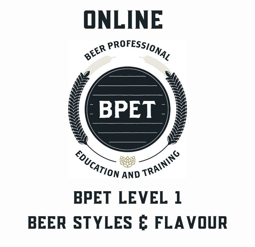 ONLINE COURSE: BPET Level 1 in Beer