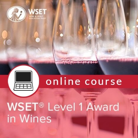 WSET Level 1 in Wines & Exam - Online - Tuesday Evenings