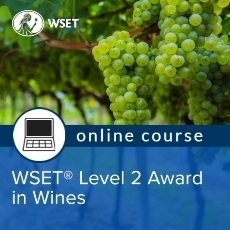 WSET Online Level 2 Afternoons inc Exam