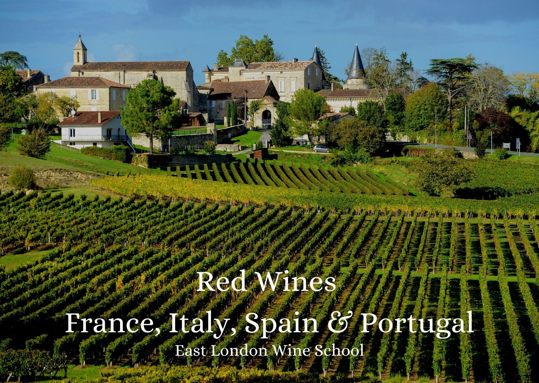 Intro to Red Wines from Italy, France, Spain and Portugal
