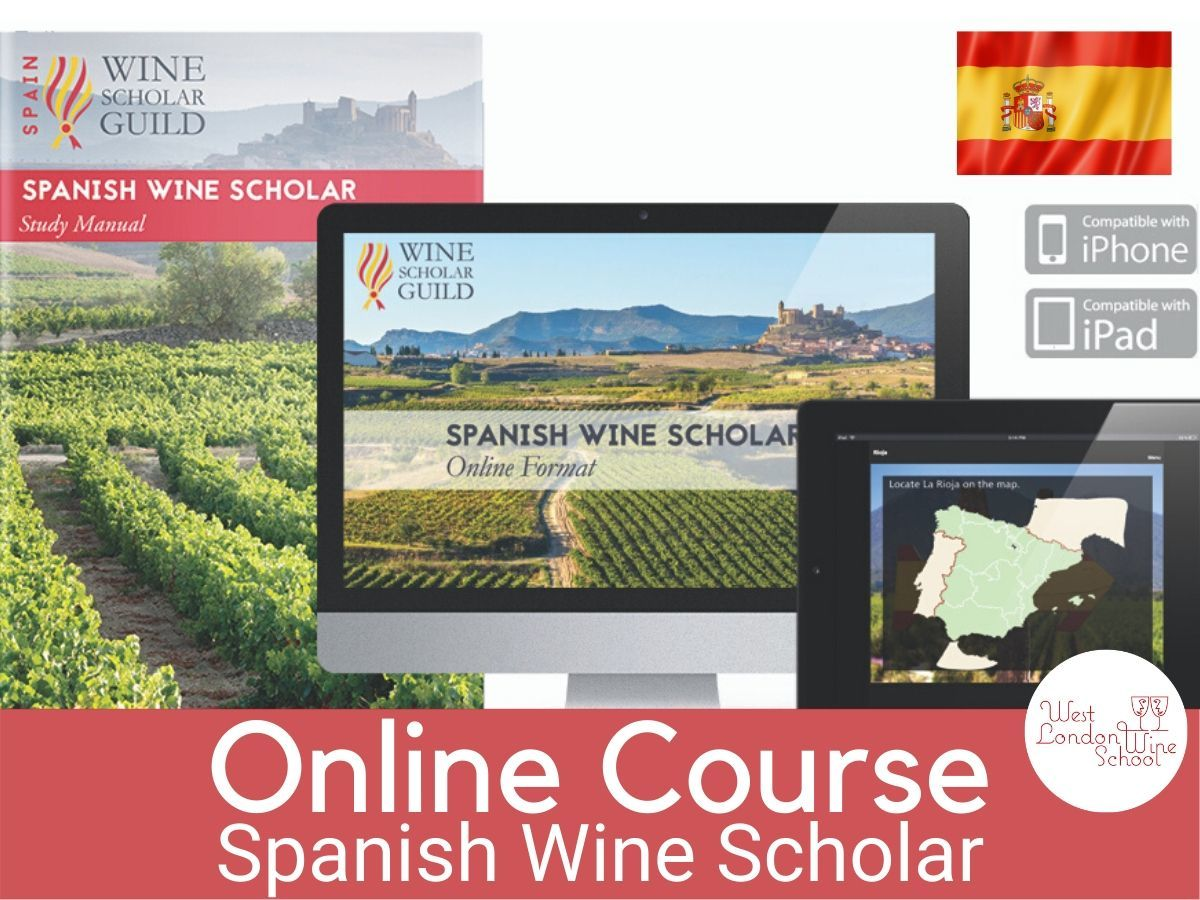 ONLINE COURSE: Spanish Wine Scholar