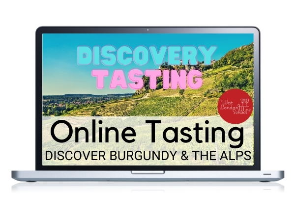 ONLINE TASTING: Discover Burgundy & The Alps