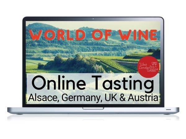 ONLINE TASTING: World of Wine - Alsace, Germany, UK & Austria