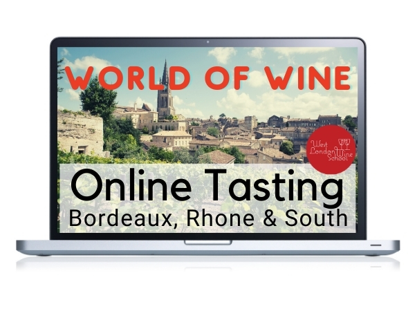 ONLINE TASTING: World of Wine - Bordeaux, Rhone & South France