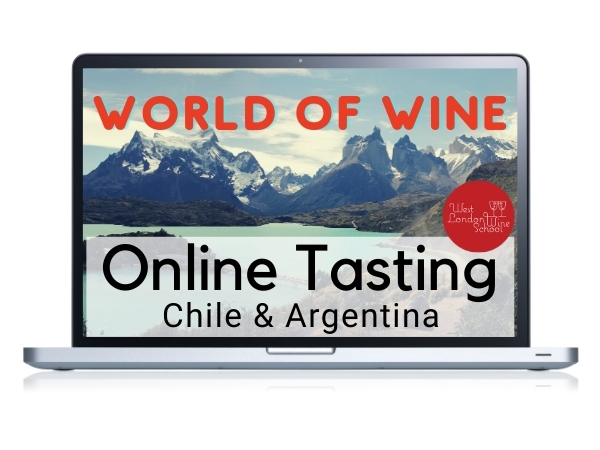 ONLINE TASTING: World of Wine - Chile & Argentina