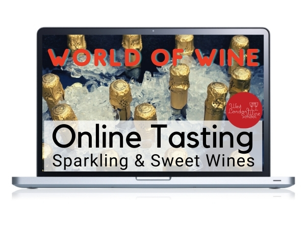 ONLINE TASTING: World of Wine - Sparkling & Sweet Wine