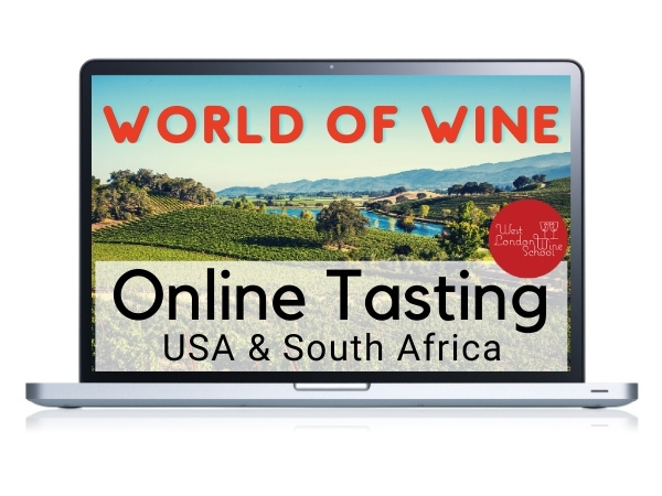 ONLINE TASTING: World of Wine - USA & South Africa