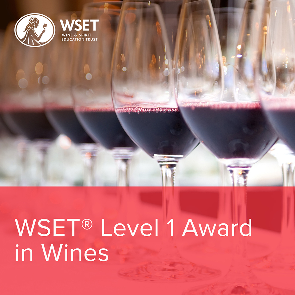 WSET Level 1 Award in Wines Course (Classroom Format)