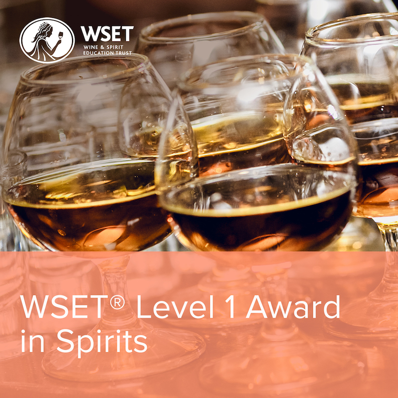 Online WSET Level 1 Award in Spirits