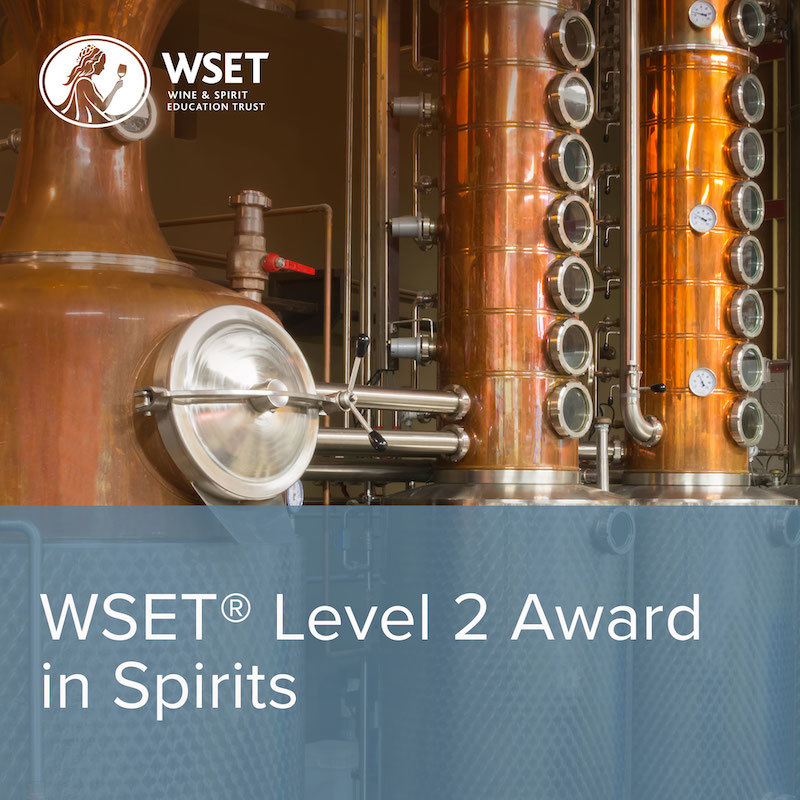 Online WSET Level 2 Award in Spirits
