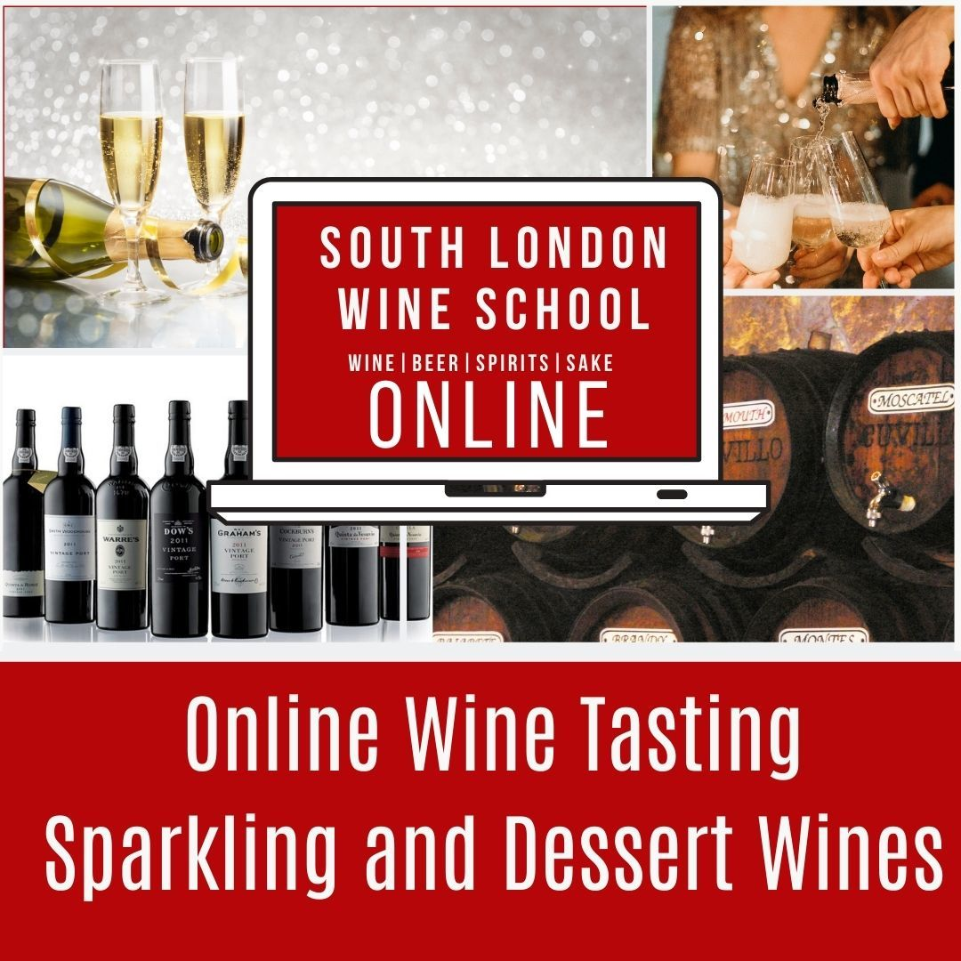 ONLINE: Introduction to Wine - Sparkling, Sweet & Fortified Wines