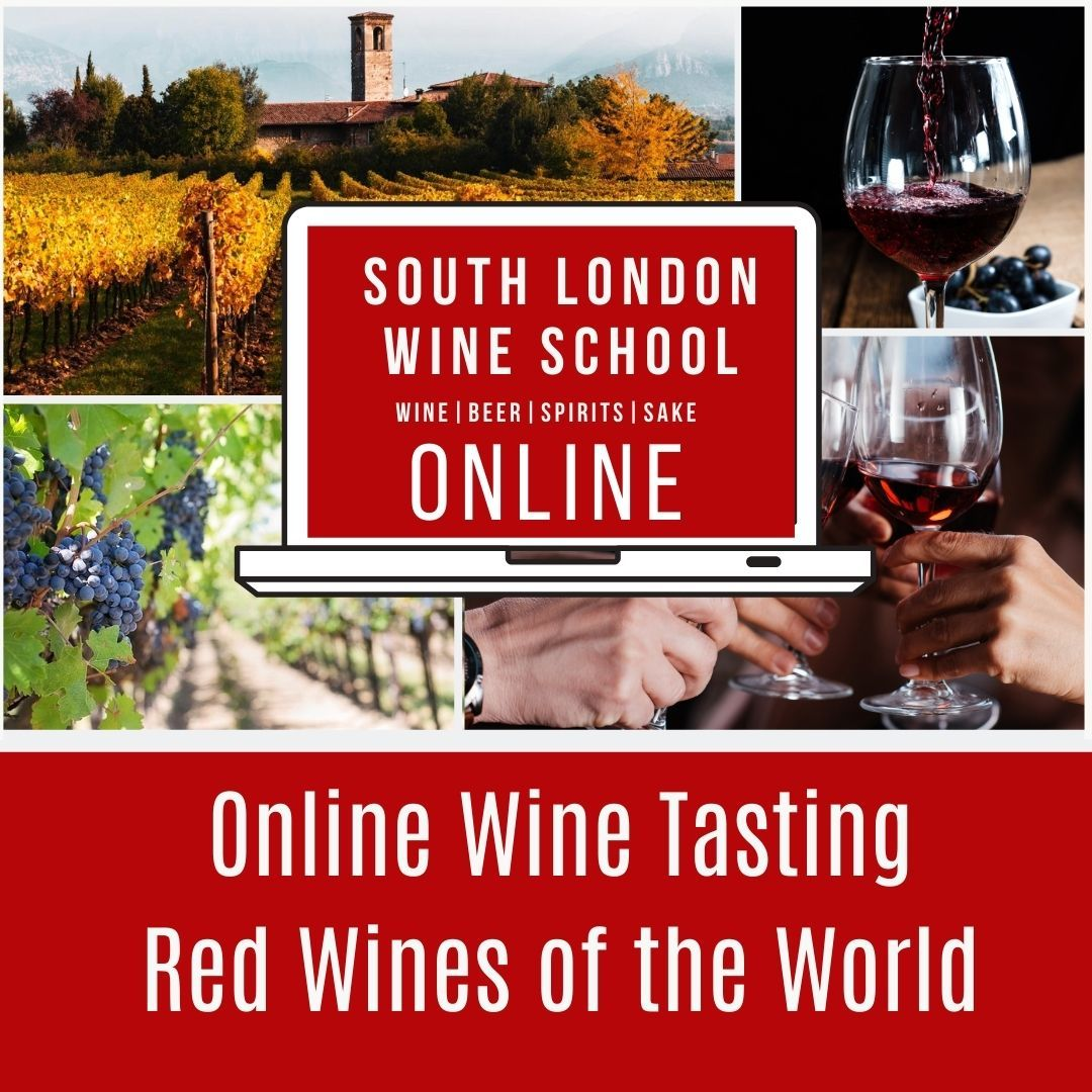 ONLINE: Introduction to Wine - Red Wines of the world