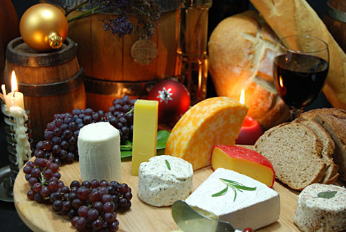 Cheese and Wine Pairing for CHRISTMAS