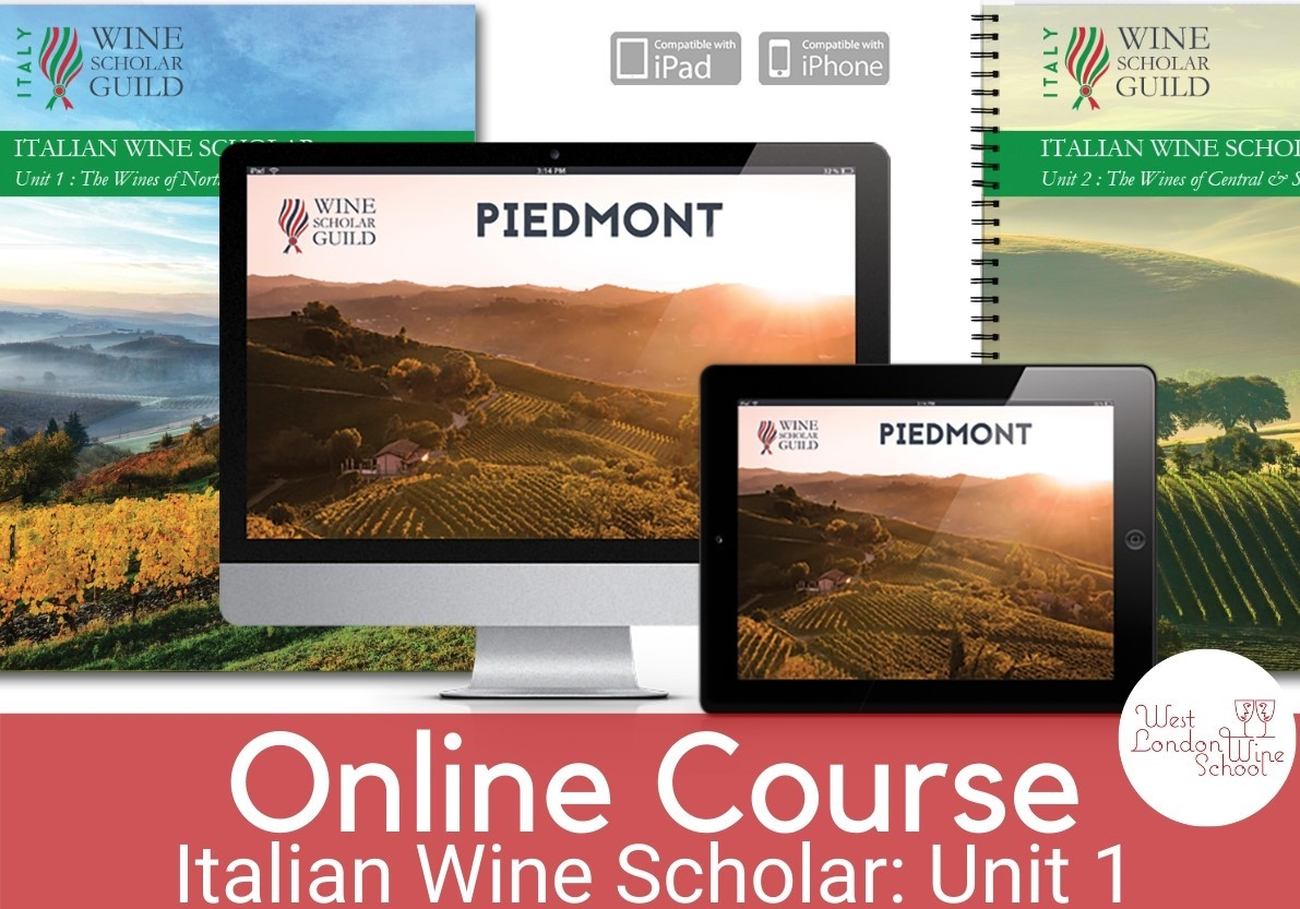 ONLINE COURSE: Italian Wine Scholar - Unit 1 (Northern Italy)