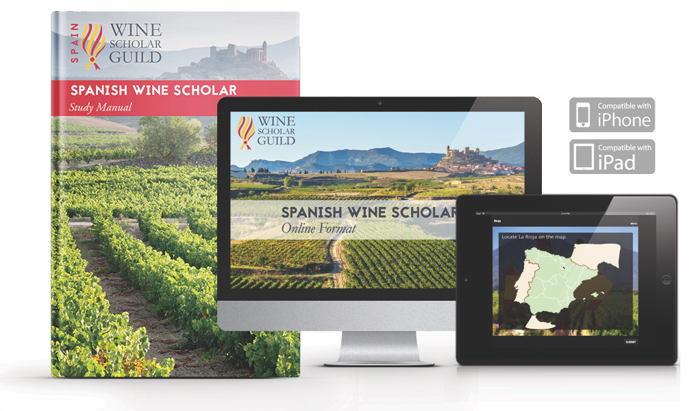 NEW Spanish Wine Scholar Guild