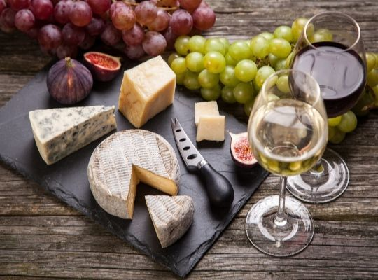 Cheese and Wine Pairing Experience