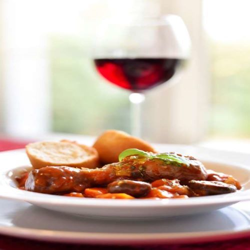 Coq au Vin and French Wine