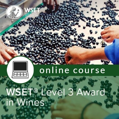 WSET Level 3 in Wines - ONLINE