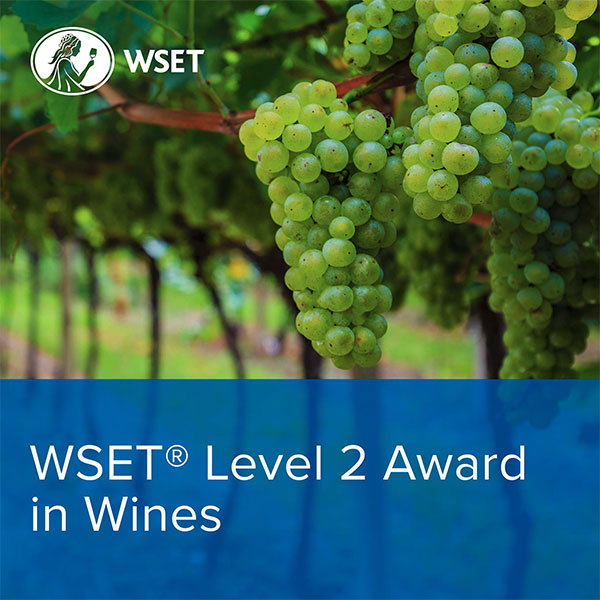 WSET Level 2 in Wines - CLASSROOM